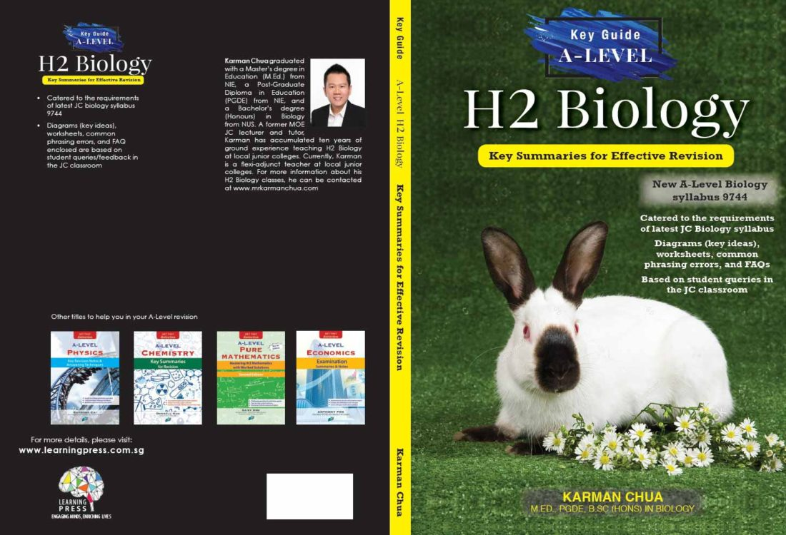 Karman Chua - H2 Biology Guidebook (Full Cover)